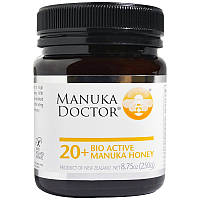 Манука мед, 20+, Manuka Honey, Manuka Doctor, (250 г)