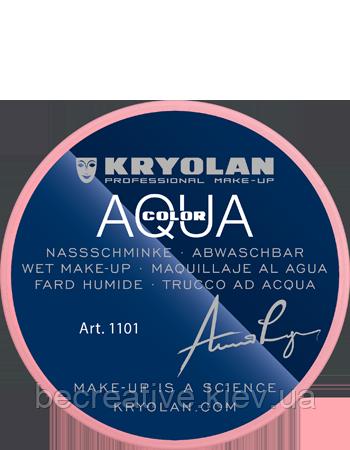 Розовый аквагрим AQUACOLOR 8мл(оттенок 03)