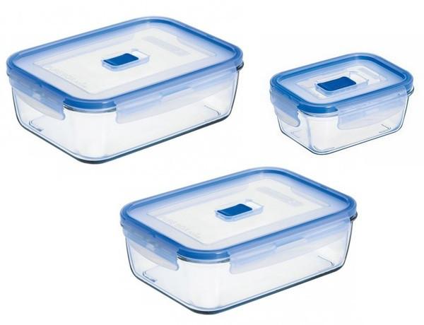 Pure Box Active Набор емкостей для хранения 3 пр. Luminarc N6241