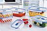 Pure Box Active Набор емкостей для хранения 3 пр. Luminarc N6241, фото 3
