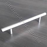 Рейлинговая ручка MAR 12/128 мм. матовий хром, фото 2