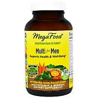 MegaFood, Мультивитамин для мужчин, 120 таблеток