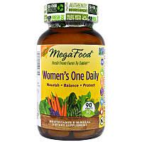 Витамины для женщин (Multivitamin Mineral), MegaFood, 90табл