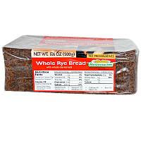 Цельнозерновой ржаной хлеб, Whole Rye Bread, Mestemacher, 500 г