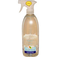Натуральное чистящее средство для душа, Shower Cleaner, Method, 828 мл