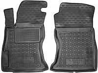 Полиуретановые передние коврики для Subaru XV II 2017- (AVTO-GUMM)