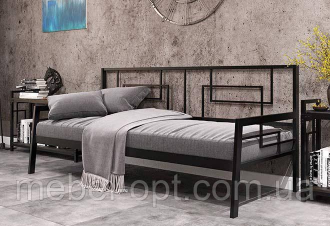 Диван-софа Квадро 80х190 см Металл-Дизайн, коллекция Лофт