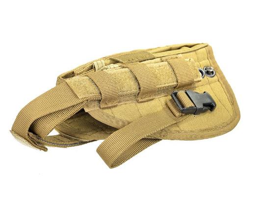 Кобура для пістолета MFH Molle Coyote 30709R