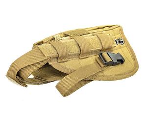 Кобура для пістолета MFH Molle Coyote 30709R, фото 2