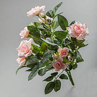 Роза букет 084F pink 30 см
