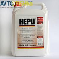 Антифриз HEPU G12 красный концентрат 5л