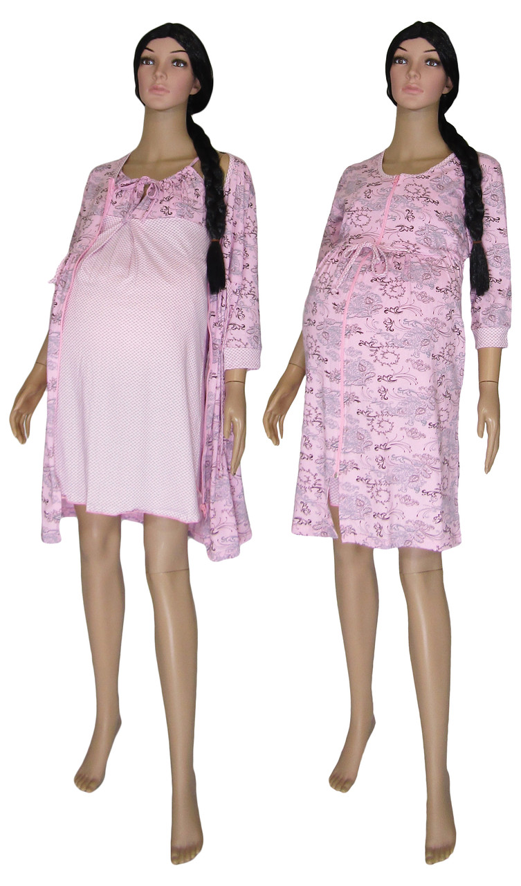 Комплект в роддом Fashion Mama 02114 для беременных и кормящих, р.р. 42-52
