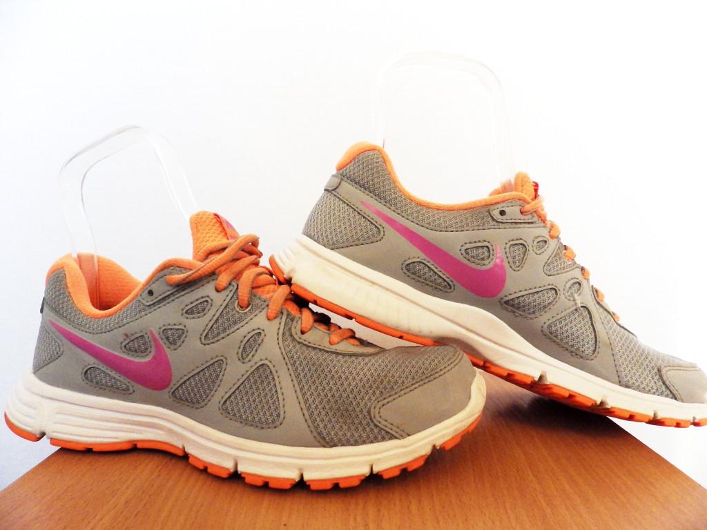 Кроссовки беговые Nike Revolution 2 Msl100% ОРИГИНАЛ р-р 38 (24см) (Б/У, СТОК) original лёгкие сетка