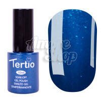 Гель-лак Tertio №055 (светлый лазурный, микроблеск), 10 мл