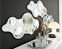 Зеркало Bubbles CS/5029 P64 glossy white gmr mirror