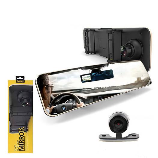 Видеорегистратор-зеркало+камера заднего вида Remax CX-03