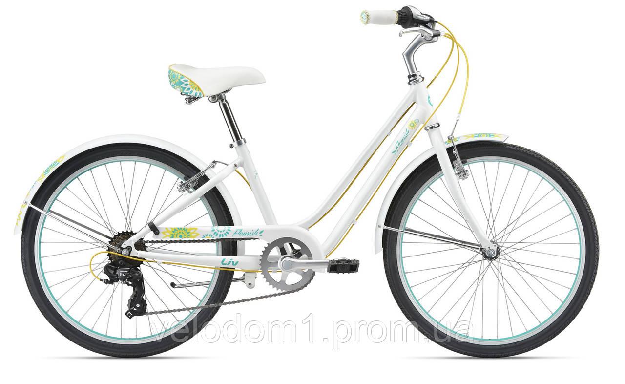 """Велосипед Giant 24"""" Flourish wht (2018)"""