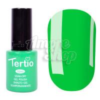 Гель-лак Tertio №058 (бледно-зеленый, эмаль), 10 мл