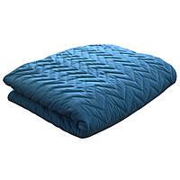 Покрывало на кровать микрофибра BLUE 240х215смТМ Прованс