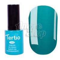 Гель-лак Tertio №060 (нефритовый зеленый, эмаль), 10 мл