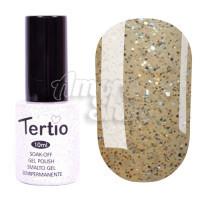 Гель-лак Tertio №061 (золотистый с голографическим микроблеском), 10 мл