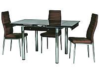 Стол GD-082 (коричневый)