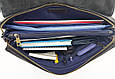 Сумка из натуральной кожи VATTO Mk80.3 Kr600, мужская, синий, фото 3