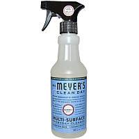 Mrs. Meyers Clean Day, Средство для ежедневного мытья различных поверхностей, с ароматом колокольчика, 16 жидких унций (473 мл)
