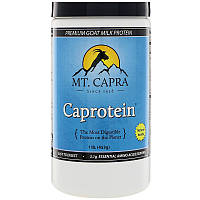 Mt. Capra, Caprotein, козий молочный протеин премиум класса, со вкусом ванили, 16,2 унций (460 г)