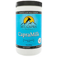 Mt. Capra, CapraMilk, Обезжиренное козье молоко в виде порошка, 1 фунт (453 г)