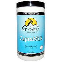 Mt. Capra, CapraMilk, козье порошковое молоко, 1 фунт (453 г)