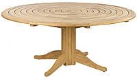 Большой круглый деревянный стол D=1,75м