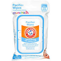 Очищающие салфетки для сосок, (Pacifier Wipes), Munchkin, 36 шт
