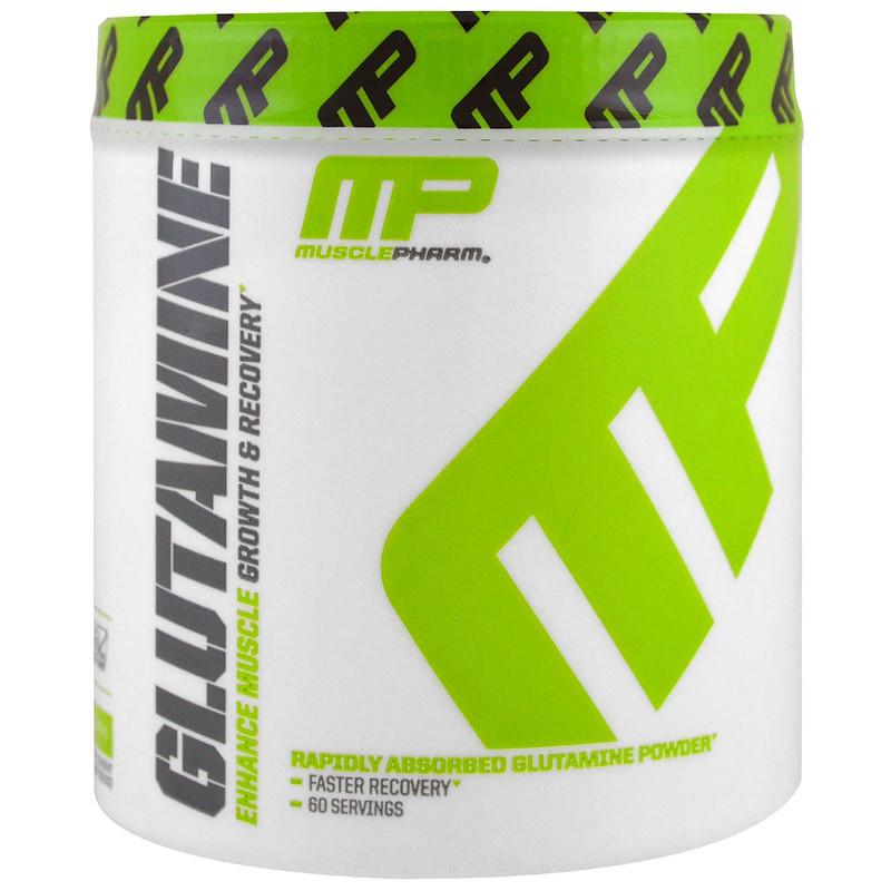 L- глютамин роста и восстановления, (L-Glutamine Core Series), Muscle Pharm, 300 г