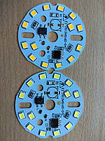 Матрица 14 LED 2835; 9 Вт; 220 В белый (холодный, теплый)
