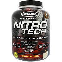 Сывороточный протеин, ванильный деньрожденный торт, Muscletech, 1.80 кг., фото 1