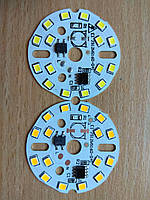 Матрица 16 LED 2835; 12 Вт; 220 В белый (холодный, теплый)