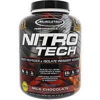 Сывороточный протеин, молочный шоколад, Muscletech, 1.80 кг., фото 1