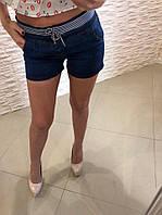 Женские короткие летнии джинсовые шорты , фото 1