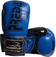 Перчатки боксерские Powerplay / 3017 / PU / 10oz BLUE