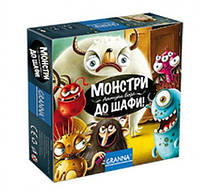 Настольная игра Монстры в шкаф / Монстри до шафи