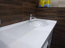 Столешница в ванную из акрила LG S034, фото 2
