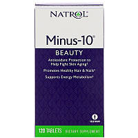 Альфа-липоевая кислота Минус 10, Natrol, 120 таб.