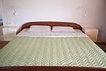 Покрывало на кровать микрофибра GREEN 180х215смТМ Прованс