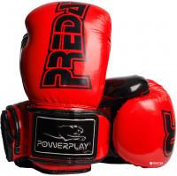 Перчатки боксерские Powerplay / 3017 / PU / 12oz RED