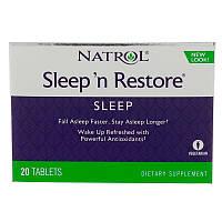 Здоровый сон, Natrol, 20 таблеток, фото 1