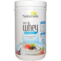Naturade, 100% Whey, Protein Booster, Vanilla Flavor, 12 oz (340 g)