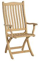 Складной стул из натурального дерева для отдыха, Alexander Rose, Англия