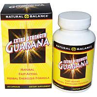Natural Balance, Гуарана, С повышенной силой действия, 60 капсул