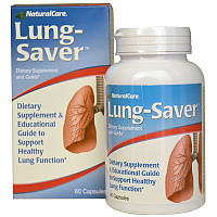 Свободное дыхание, Lung-Saver, Natural Care, 60 капсул